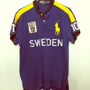 Men's 2011 Swedish Olympic polo top